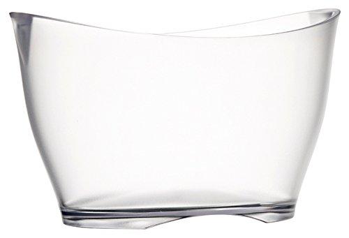 Vasque à champagne Iceberg transparente - Verrerie de la Marne
