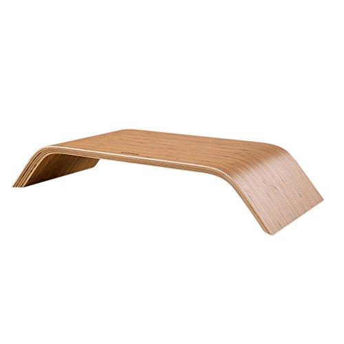 Supporto in legno da scrivania per qualunque tipo di computer desktop e portatile