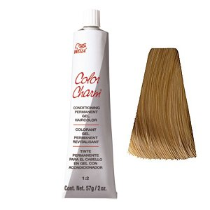 Wella Color Charm Gel Permanent Tube Hair Color 8NG Light Beige Blonde by Wella (Wella-gel-haarfarbe)