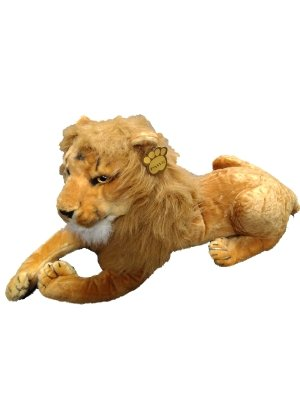 réaliste Grande Lion Peluche en peluche 110 cm 101,6 cm