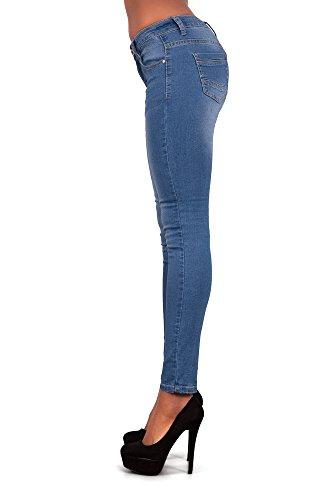 LustyChic Damen Jeanshose Blau