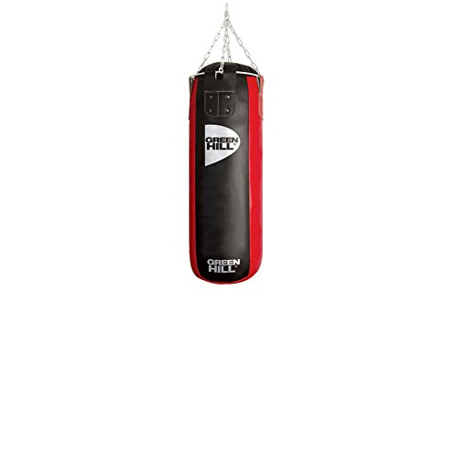 GREEN HILL SACO RELLENO PROFESIONAL PUNCHING BAG HEAVY BAG CUERO (90cm x...