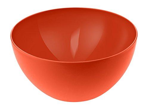 Rotho 1705302792 Bol Petit Plastique, Papaye-Rouge, 22,5 cm