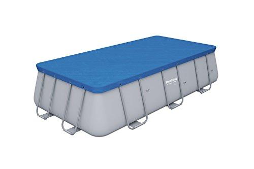 Bestway 58232   Cubierta para piscina de estructura splash 404 × 201 cm / 412 × 201 cm, medidas de cobertor 3.96 m x 1.85 m