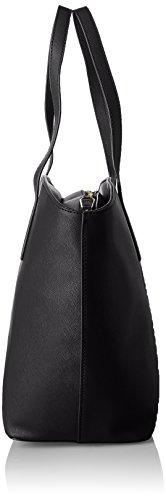 TRUSSARDI JEANS Tote bag / Borsa shopping Pelle sintetica Donna Nero