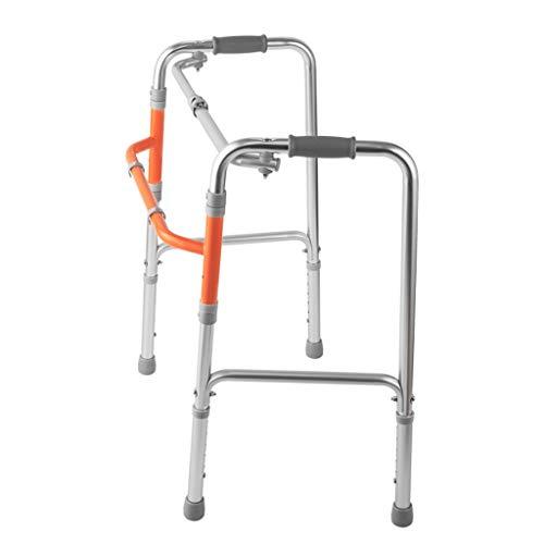 Peixia corrimano di sicurezza, walker, lega di alluminio, walker per anziani, rialzo per riabilitazione disabili, bastone da passeggio a quattro zampe, walker, pieghevole