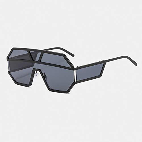 DWSYDA Sonnenbrille Vintage Sonnenbrille Randlose Goggle Shield Sonnenbrille,1