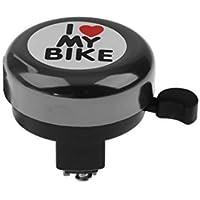 Wiwi.f Accesorios para Bicicletas Bell Bell Love Bells para niños Negro