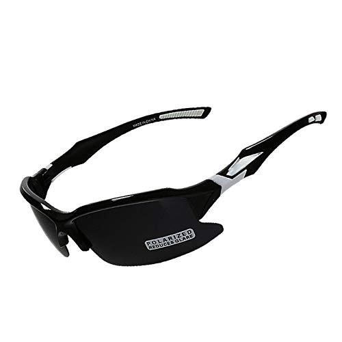 DOLOVE Brille Motorrad Nacht Sonnenbrille Unisex Schutzbrille Antibeschlag Schwarz Weiß