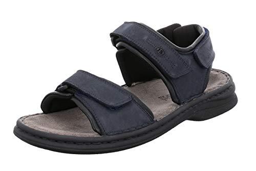 Josef Seibel Rafe Sandalen in Übergrößen Blau 10104 11 582 große Herrenschuhe, Größe:46 - 11 Sandalen Für Männer