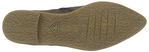 Tamaris25086 - Stivali classici imbottiti a gamba corta donna Marrone (Braun (Cigar 314))