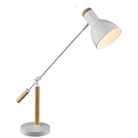 ALAN @ -Nordic legno massello cinese lampada da tavolo semplice
