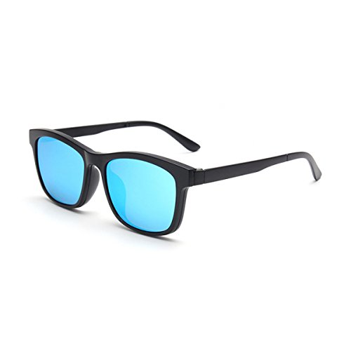 WKAIJC Trends Mode Persönlichkeit Kreativität Freizeit Raffinierte Komfortabel Polarisiertes Licht Clip-Art Sonnenbrillen,C