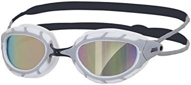 Zoggs Predator Mirror Swimming Gafas, Unisex, Blanco, Talla Única