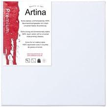 Artina–Lienzo de tela (–lienzo para pintar–3d Premium–apprêtée 3vez–Lote de 50–70x 90cm 380g/m²