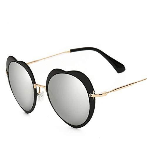 ZXL Die Sonnenbrille, Liebe Mode farbfilm Metal Sonnenbrille