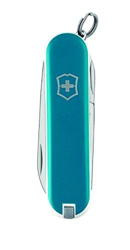 Victorinox - Classic Azul Hielo - Navaja Suiza de Bolsillo - 58 mm - 7