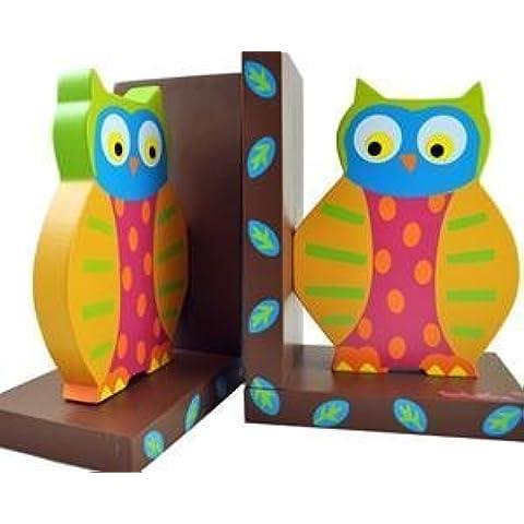 Tatutina Bookends - Owls by