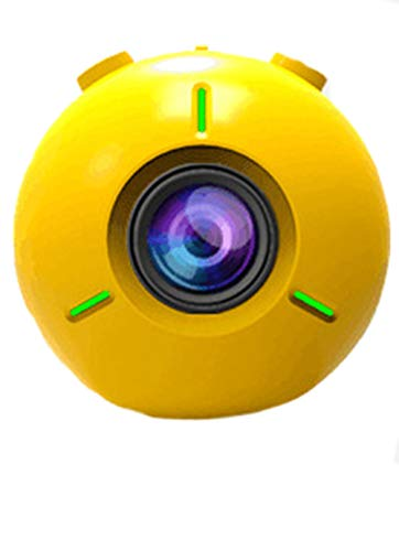 KILTYEN Fotocamera Movimento Movimento Fotocamera Galleggiante Impermeabile 4K,Yellow