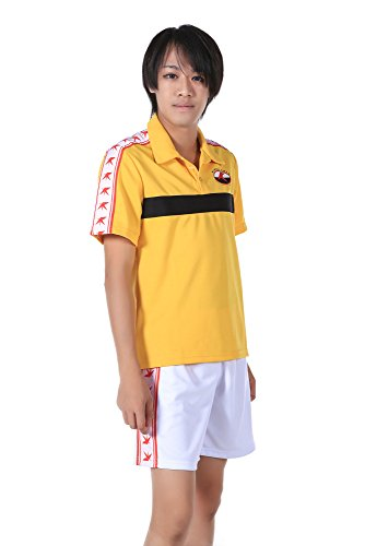 De-Cos Cosplay Costume Rikkai University High School Summer Sport Outfit V1