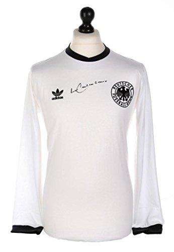 Franz-Beckenbauer-Signed-Germany-Shirt-Autograph-Retro-Adidas-5-Jersey-COA