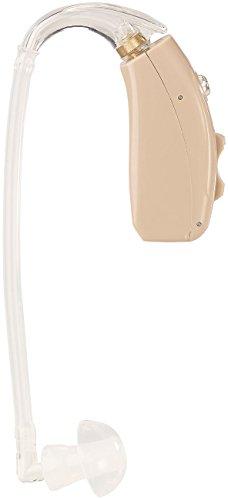 newgen medicals Hörgerät-Hörhilfen: Akku-HdO-Hörverstärker HV-633 mit zwei Klangkulissen-Modi, 33 dB (Hörgeräte verstellbar) (Hörgerät Mode)