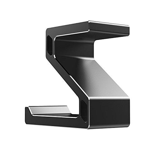Kopfhörer Ständer, GVDV Kopfhörerhalterung aus Aluminium unter Schreibtisch Headset Halterung Kopfhörer halter Standplatz für alle Headset Kopfhörer (Schwarz) - 7