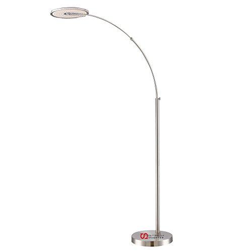 LICHT-TREND LED-Bogenleuchte 170 - 210cm verstellbar 18W Alu-matt