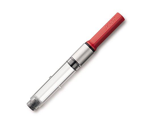 El convertidor de émbolo de Lamy Z28 le permite realizar la carga de tinta estilográfica para las plumas estilográficas Lamy Es la alternativa perfecta para el uso de cartuchos de tinta estilográfica El convertidor Lamy Z28 reemplaza al antiguo conve...