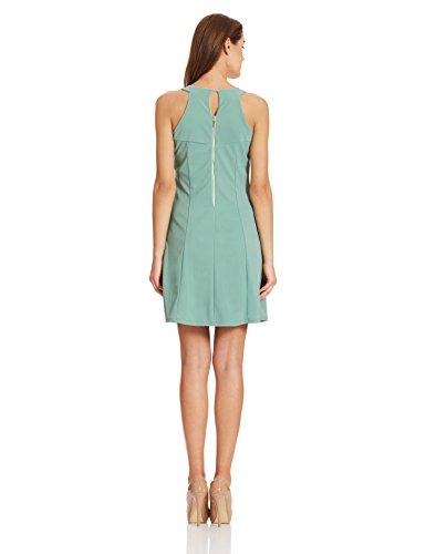 Deal Jeans Women's A-Line Dress (20451_Green_Medium)