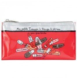 Trousse à rouges à lèvres HELENA Fines bouches - Derrière la porte