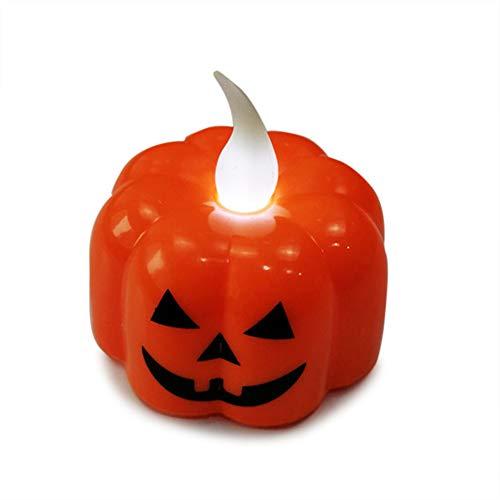 Halloween-Symbol Dekoration LED Nachtlicht batteriebetrieben Kürbis/Spinnennetz / Schädelhalter Laterne