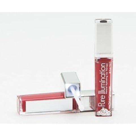 Pure Illumination Fierce Light Up Lip Gloss Raging Red Push