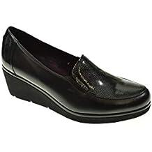 8178b83c5c5 Zapato CUÑA - Mujer - Negro - pitillos - 5231