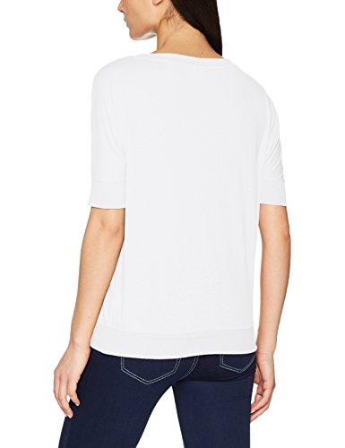 Q/S designed by - s.Oliver Damen T-Shirt Weiß (White 0100)
