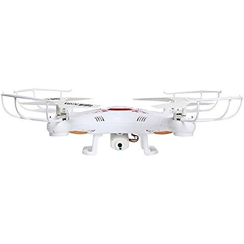 X5C-1 RC Quadricottero UFO 4CH 2,4GHz Gyro 6-Assi 360°con Camera HD 2MP + TF 4GB