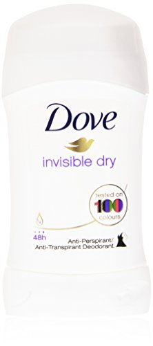 Dove - invisible dry, Deodorante, Anti-Macchie Bianche - 30 ml