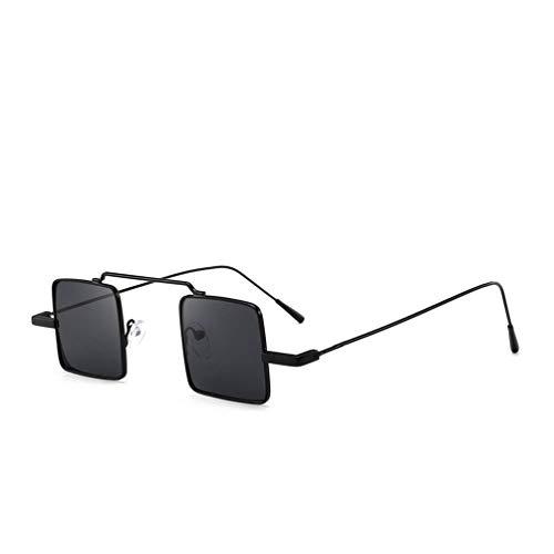 Klassische Horn Gestell Halbrahmen Polarisierte Sonnenbrille für Damen & Herren Retro Vintage Stil Unisex Brille Pornobrille Fliegerbrille - Bluelucon