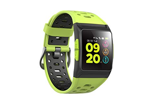 SPC Smartee Stamina Smartwatch, Unisex, Verde, 0