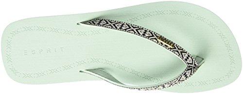 Esprit 047EK1W070, Infradito Donna Verde (340 pastel Green)