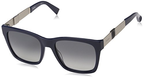 Max Mara Damen MM STONE I VK VNB 54 Sonnenbrille, Blau (Bluette Ltmtgd/Grey Sf),