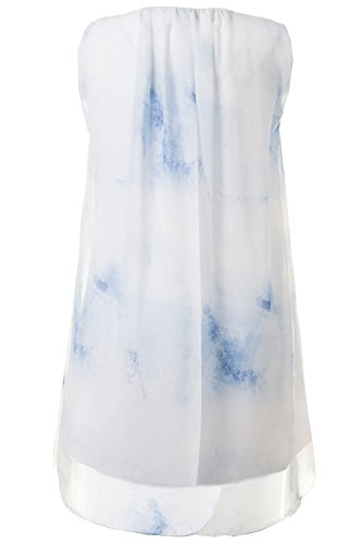 GINA_LAURA Damen Top 711619 Indigoblau