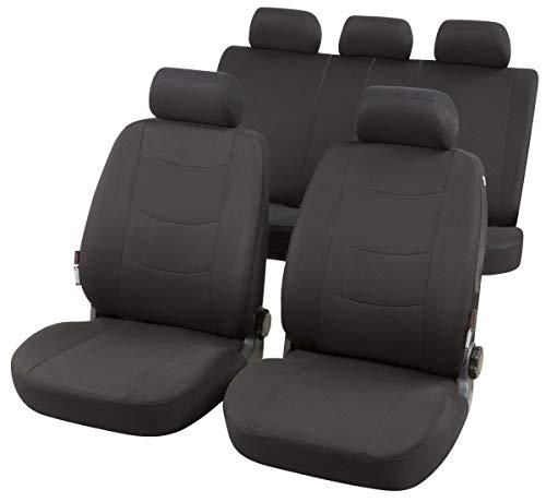 rmg-distribuzione Coprisedili per AGILA Versione (2000-2008) con Aperture per sedili con airbag, bracciolo Laterale, sedili Posteriori sdoppiabili, Cinture di Sicurezza R21S0610
