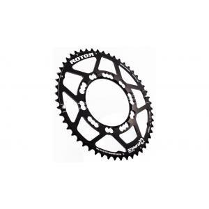 ROTOR Q-Ring Road Kettenblatt 110mm 5-Arm außen schwarz Ausführung 50 Zähne 2019 Kettenblätter