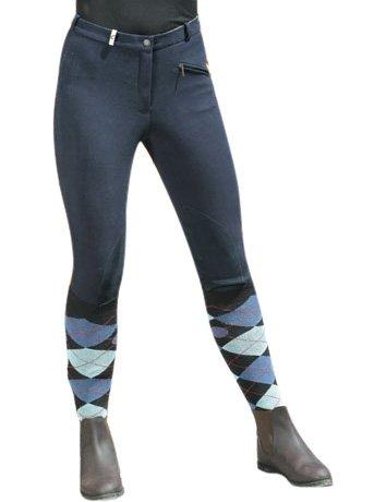 Covalliero Damen Reithose BasicStar, Gr. 34, blau, 326388