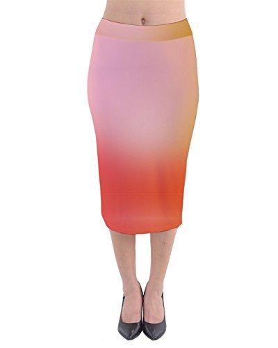 CowCow - Jupe - Femme Mint and Orange Orange