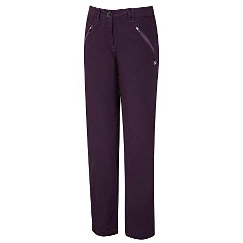 Craghoppers Kiwi Pro Pantalon court violet foncé