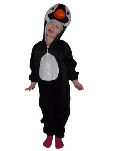 Pinguin-Kostüm, AN46 Gr. 86-92, für Klein-Kinder, Babies, Pinguin-Kostüme Pinguine Kinder-Kostüme Fasching Karneval, Kinder-Karnevalskostüme, Kinder-Faschingskostüme, Geburtstags-Geschenk