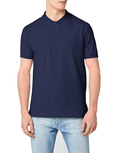 Fruit of the loom premium short sleeve, polo uomo, marina militare, xxx-large