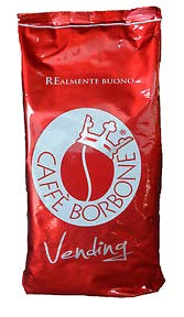 3 kg caffe in grani borbone qualita' rossa